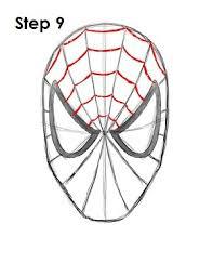draw spider man