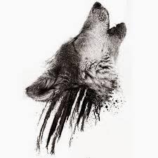 dotwork simple wolf design stencil 800x800 jpg 800
