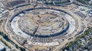image result for apple new campus construction apple new campus