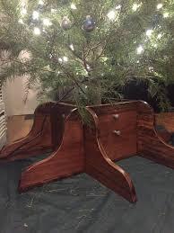 custom wood christmas tree stand album on imgur