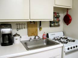 space saving kitchen ideas kitchen silver single sink near black coffee maker on white