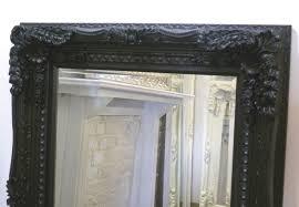mirror amazing ornate black mirror black bathroom mirror for
