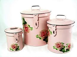 retro canisters kitchen amazon com retro vintage canister set kitchen storage canisters