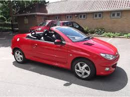 buy new peugeot 206 used peugeot 206 cc convertible 1 6 allure 2dr a c in