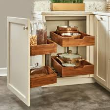 blind corner kitchen cabinet inserts pullout walnut two tier bottom mount blind corner organizer
