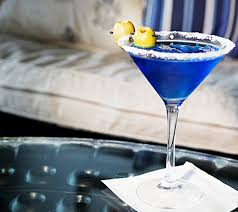 martini drink signature cocktail recipes godolphin u0027s royal blue martini