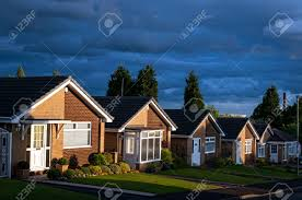 British Houses Row Of Houses On A Typical British Street Stock Photo Picture And