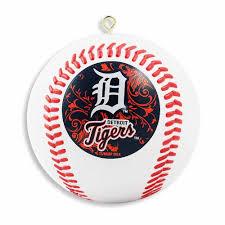 detroit tigers baseball christmas tree ornament detroit athletic