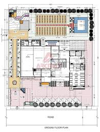 marriage hall floor plan best architect for marriage garden design in india arcmax