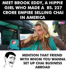 Hippie Chick Meme - rvcj media chai business facebook