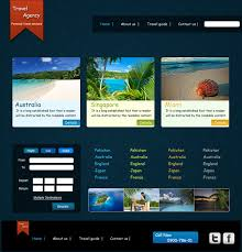 css tutorial layout template creating a travel agency web layout in photoshop