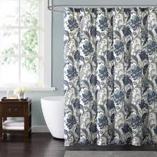 Flower Drop Shower Curtain Blue Shower Accessories Shop The Best Deals For Nov 2017