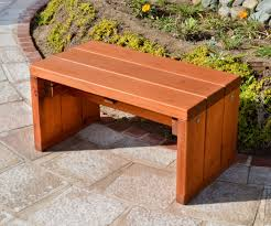small outdoor bench treenovation