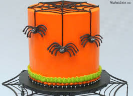 chocolate spiders free halloween cake video my cake