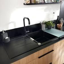 cuisine gris noir evier cuisine gris anthracite evier de cuisine haute cuisine synonym