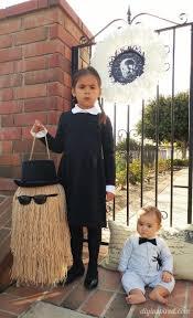 Wednesday Halloween Costumes Diy Baby Pubert Addams Halloween Costume Diy Inspired
