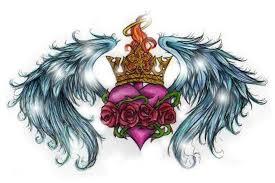 royal heart tattoo sketch best tattoo designs