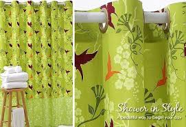 Shower Curtain Green Shower Curtain Diys To Revamp Your Bathroom