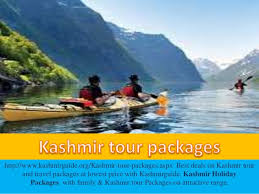 kashmir tour packages for family