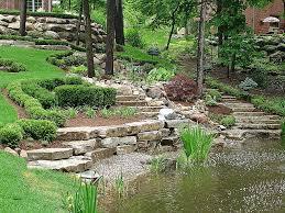 Sloping Garden Ideas Photos Landscape Design Landscaping Ideas For Sloping Gardens