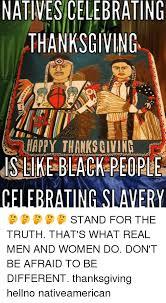 natives celebrating thanksgiving 01n happy thanksgiving slike black