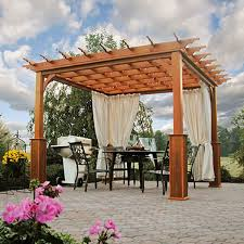 10 X 10 Pergola by Traditional Wood Pergolas Country Lane Gazebos