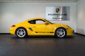 2011 porsche cayman s for sale in colorado springs co p2590