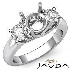 jewelry rings ebay images Diamond three stone engagement trellis ring platinum 950 round jpg