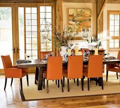 western dining room racing club decor
