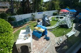 backyard theme park welcome to dobbsland a disney like theme park in a fullerton