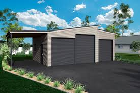 unique garages skillion roof sheds and garages ranbuild