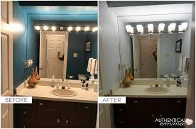 Bathroom Lights Mirror Replacing A Light Fixture On A Vanity Mirror