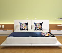 marilyn monroe bed runner set u2013 steven brown art