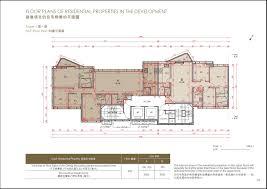 homantin hillside 何文田山畔 homantin hillside floor plan new