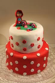 little red riding hood fondant birthday cake penny u0027s food blog