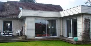 extension chambre extension à ossature bois d une maison individuelle dans la région