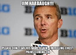Jim Harbaugh Memes - jim harbaugh please don t say his name again i m feeling chest