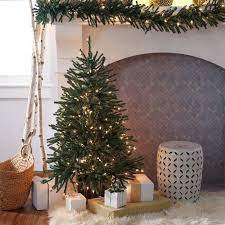 best finley home ft delicate pine slim prelit tree pic of