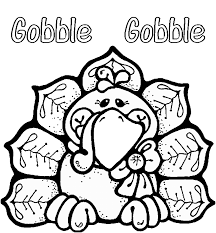 thanksgiving clipart to color clipartxtras