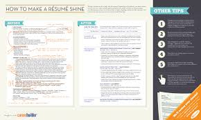 Job Resume Tips by Resume Tips To Help You Land That Job Infographic