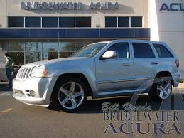turbo jeep srt8 pre owned 2008 jeep grand cherokee srt8 suv in bridgewater p7307s