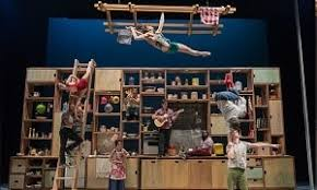 cuisine et spectacle et confessions les 7 doigts de la bobino cirque