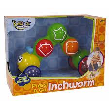 The Inchworm International Playthings Kidoozie Press U0027n Go Inch Worm