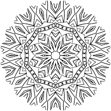 free illustration mandala coloring color free image