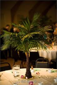 Beach Centerpieces For Wedding Reception by Mini Palm Tree Centerpiece Great For A Beach Themed Wedding Or