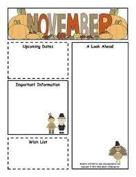 11 best newsletter images on pinterest kindergarten newsletter