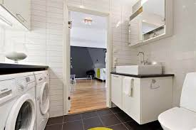 bathroom laundry ideas a combined laundry and bathroom