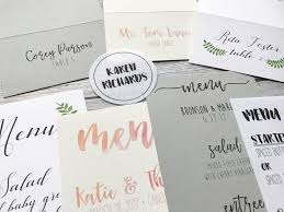 Table Place Cards by Diy Wedding Menus Place Cards U0026 Programs On Cardstock Paper How