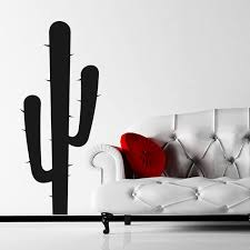 cactus wall sticker world of wall stickers cactus wall sticker decal a