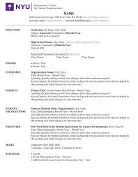 Undergraduate Resume Template Word Film Resume Template Word Free Resume Example And Writing Download